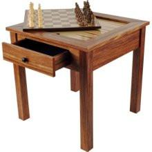 80-411 Wood 3 In 1 Chess Backgammon Table By Trademark Games - Peazz.com