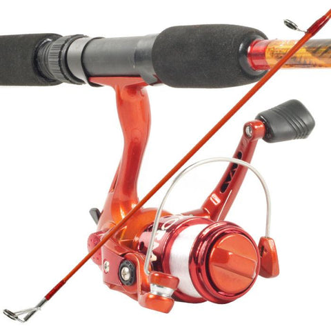 Trademark Commerce 80-7208ORA South Bend Worm Gear Fishing Rod & Spinning Reel (Orange) Co - Peazz.com