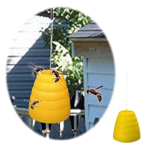 Trademark Home 82-3216 Trademark Home Collection Beehive Wasp Trap Yellow - Peazz.com