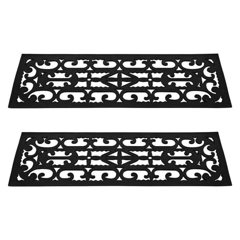 Terratrade 82-Yj440B Non-Slip Stair Tread Mats 2 Piece By Terratrade - Peazz.com