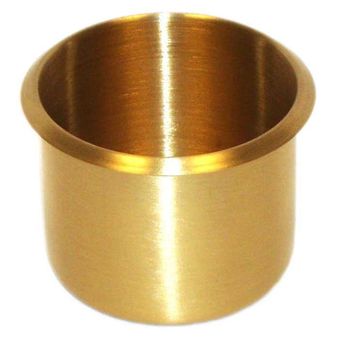 Trademark Poker 917765 Brass Cup Holder - Peazz.com