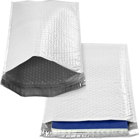 Trademark Commerce 95-POLY1-100 100 Poly Bubble Mailers #1 Self Sealing - 7.25 x 11.25 inch - Peazz.com