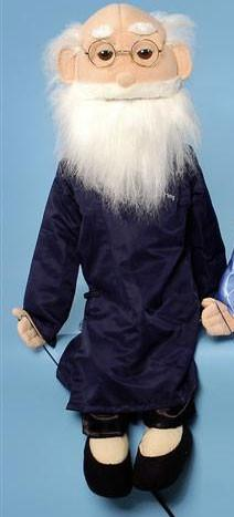 28 Asian Grandfather Full Body Puppet GS4110
