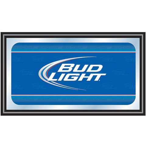 Trademark Commerce AB1500-BL Bud Light Deluxe Mirror 15 x 26 inch - Peazz.com