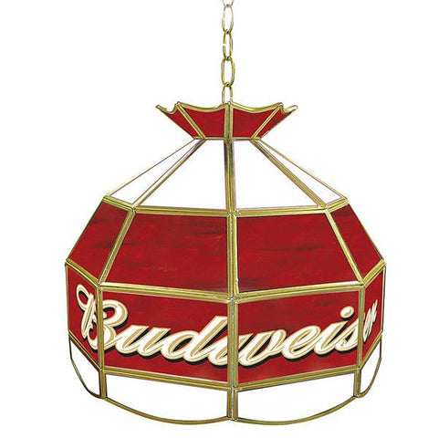Budweiser 16 inch Tiffany Lamp Light Fixture - Peazz.com