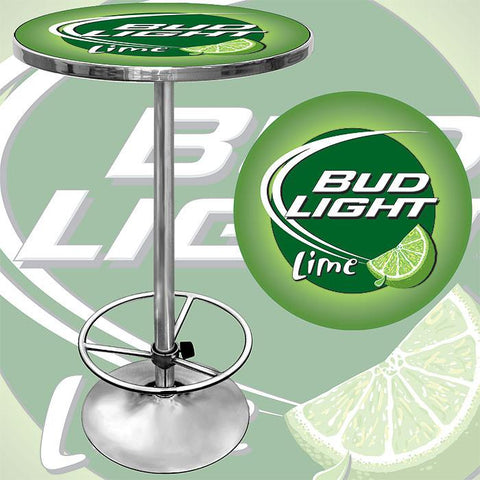 Trademark Commerce AB2000-BLLIME Bud Light Lime Pub Table - Peazz.com