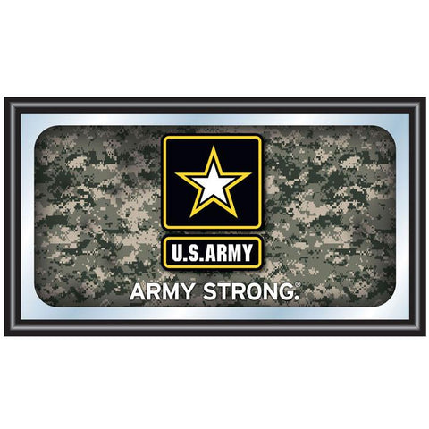 Army1500-Camo U.S. Army Digital Camo Framed Logo Mirror - Peazz.com