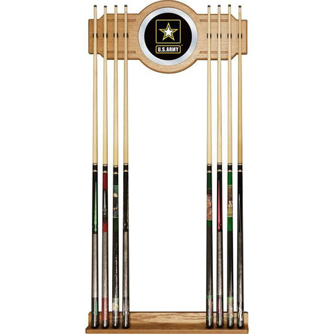 Army6000 U.S. Army Billiard Cue Rack With Mirror - Peazz.com