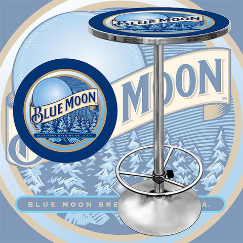 Trademark Commerce BM2000 Blue Moon Pub Table - Peazz.com