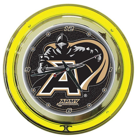 Trademark Commerce CLC1400-ARM Army Neon Clock - 14 inch Diameter - Peazz.com