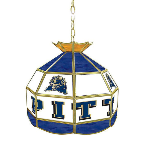 Trademark Commerce CLC1600-PITT University of Pittsburgh Stained Glass  Lamp - 16 Inch - Peazz.com