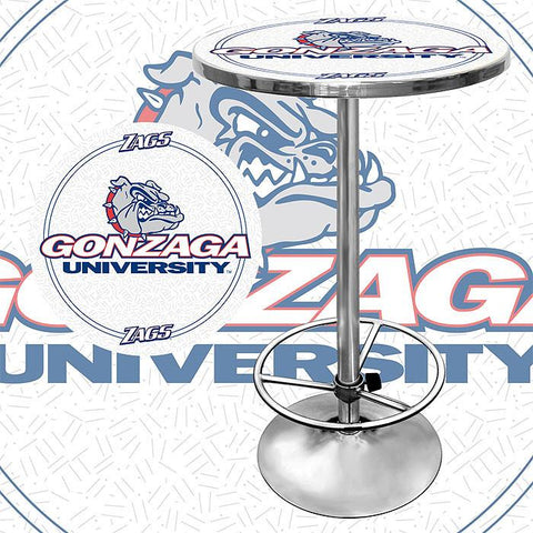 Trademark Commerce CLC2000-GU Gonzaga University Pub Table - Peazz.com