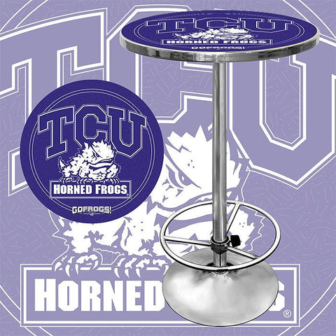 Trademark Commerce CLC2000-TCU Texas Christian University Pub Table - Peazz.com