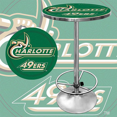 Trademark Commerce CLC2000-UNCC University of North Carolina Charlotte Pub Table - Peazz.com