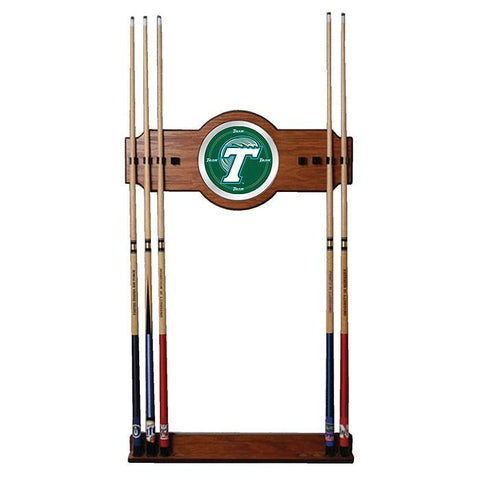Trademark Commerce CLC6000-TUL Tulane University Wood & Mirror Wall Cue Rack - Peazz.com