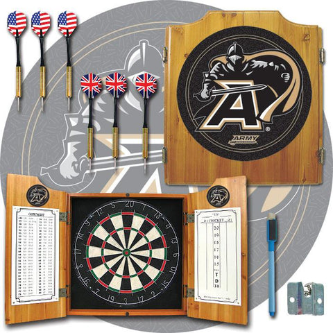 Trademark Commerce CLC7000-ARM Army Dart Cabinet - Includes Darts and Board - Peazz.com