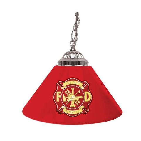 Trademark Commerce FF1200 Fire Fighter 14 Inch Single Shade Bar Lamp - Peazz.com