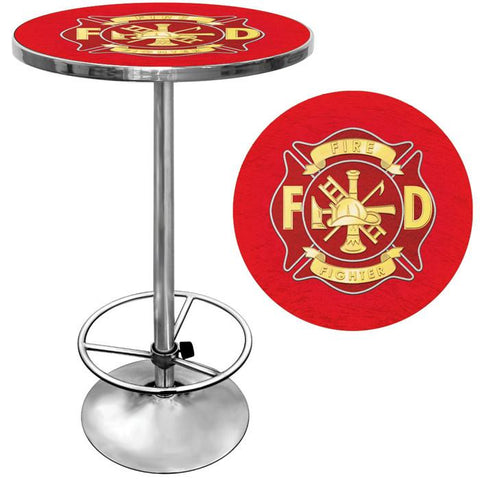 Trademark Commerce FF2000 Fire Fighter Pub Table - Peazz.com