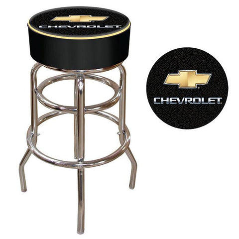 Trademark Commerce GM1000CH Chevy Padded Bar Stool - Peazz.com