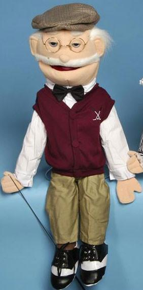 28 Full Body Golfer Puppet GS4102