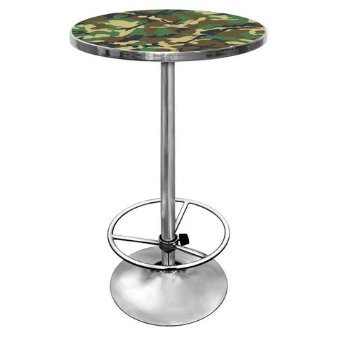 Adg Source Hunt2000-Camo Hunt Camo Chrome Pub Table - Peazz.com