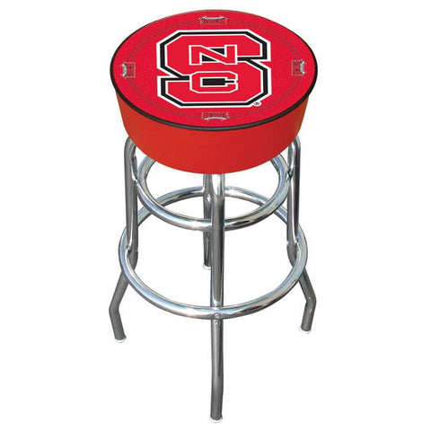 Trademark Commerce LRG1000-NCS North Carolina State Padded Bar Stool - Peazz.com