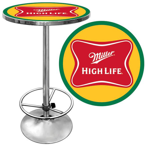 Trademark Commerce MHL2000 Miller High Life Pub Table - Peazz.com