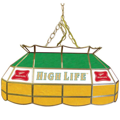 Trademark Commerce MHL2800 Miller High Life 28 inch Stained Glass Pool Table Light - Peazz.com