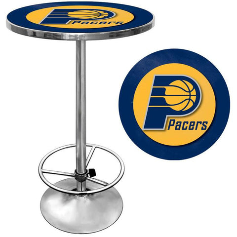 Trademark Commerce NBA2000-IP Indiana Pacers NBA Chrome Pub Table - Peazz.com