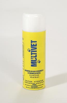 2.4oz Citronella Refill for MultiVet Anti-Bark Spray Collar PAC19-12069 - Peazz.com