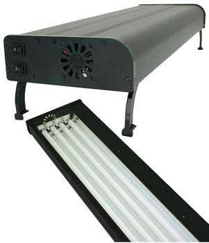 Current USA Nova Extreme T5 Aquarium Lighting Fixture, 4X24 Watt, 24 inch - Peazz.com