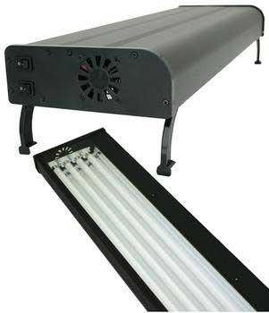 Current USA Nova Extreme T5 Aquarium Lighting Fixture, 4X54 Watt, 48 inch - Peazz.com
