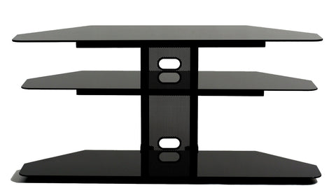 "TransDeco TD520CB Corner TV Stand For Up To 52"" Plasma Or LCD/LED TVs - Peazz.com"