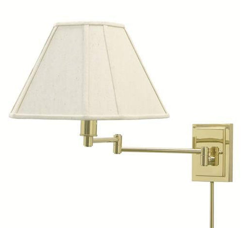 House of Troy WS16-61 Wall Swing Polished Brass - Peazz.com