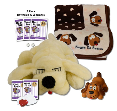 SnugglePuppie Golden Retriever Puppy Starter Kit - Peazz.com