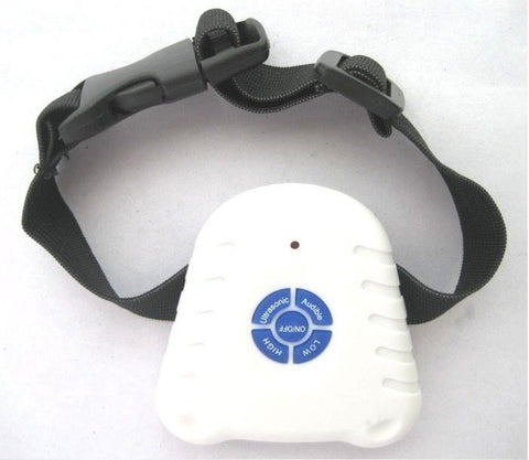 MK999 Ultrasonic Bark Stop Adjustable Collar - Peazz.com