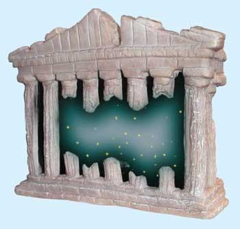 Orn Fiber Optic Lighted Ruins - Peazz.com