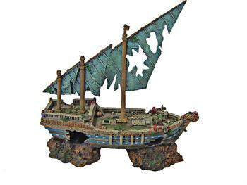 "Spot Portugese War Ship Large 17"" - Peazz.com"