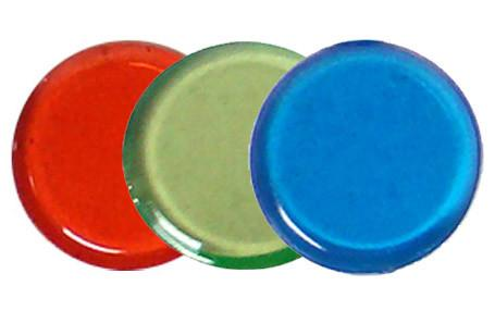 Brybelly ACO-0036 1000 Bingo Markers - Mixed Blue/Green/Red - Peazz.com