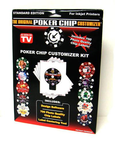 Brybelly ACP-0050 The Original Poker Chip Customizer - Peazz.com