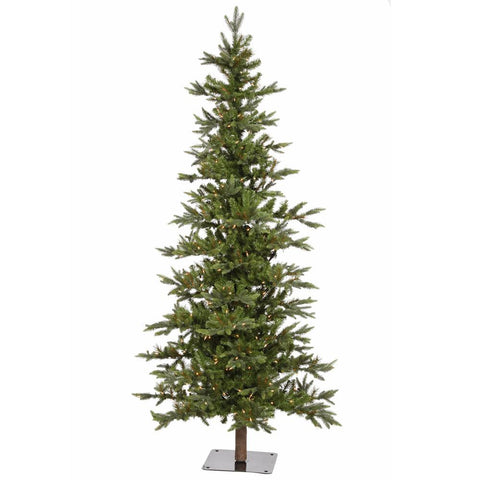 8' Vickerman A101881LED Shawnee Fir - Green Christmas Tree - Peazz.com