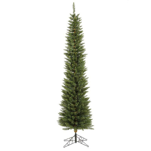 "Vickerman A103675 7.5' x 23"" Durham Pole Pine Tree 499T - Peazz.com"