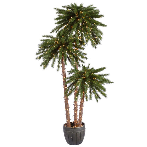 5' Vickerman A112871 Deluxe - Green - Peazz.com
