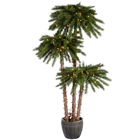 5' Vickerman A112871LED Deluxe - Green - Peazz.com