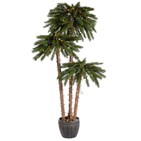 5' Vickerman A112872LED Deluxe - Green - Peazz.com