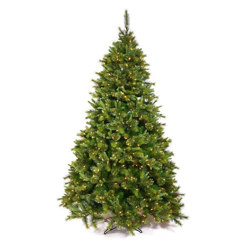"Vickerman A118245 4.5' x 37"" Cashmere Pine Tree 500 Tips - Peazz.com"