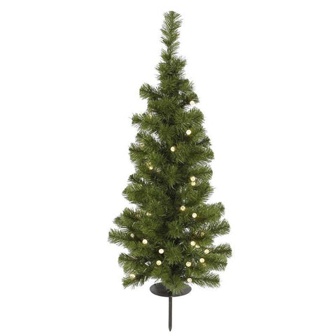 "Vickerman A122031LED 3' X 18"" LED Solar Tree 30WmWhite 93T - Peazz.com"