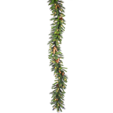 1' Vickerman A800912 Cheyenne Pine - Green - Peazz.com