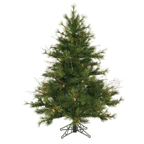 "Vickerman A801645 4.5' x 40"" Mixed Country Pine Tree 478T - Peazz.com"