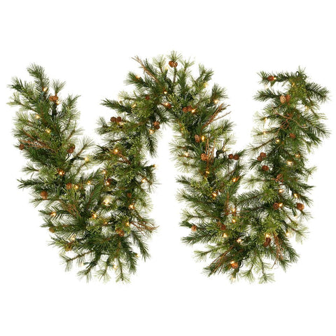 1' Vickerman A801713 Mixed Country Pine - Green - Peazz.com